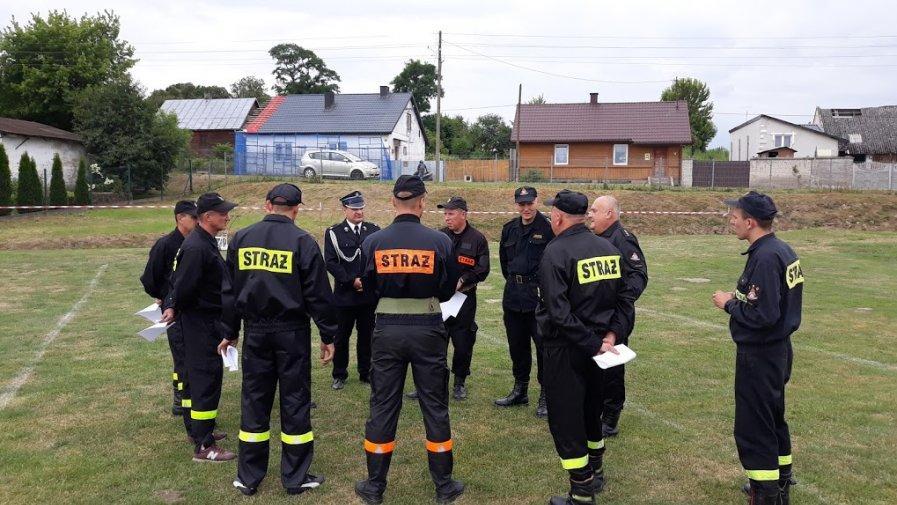 Zawody strażackie w Wojciechowicach