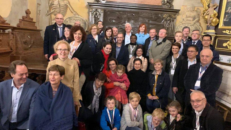 Ambasadorzy zwiedzali Ziemię Opatowską