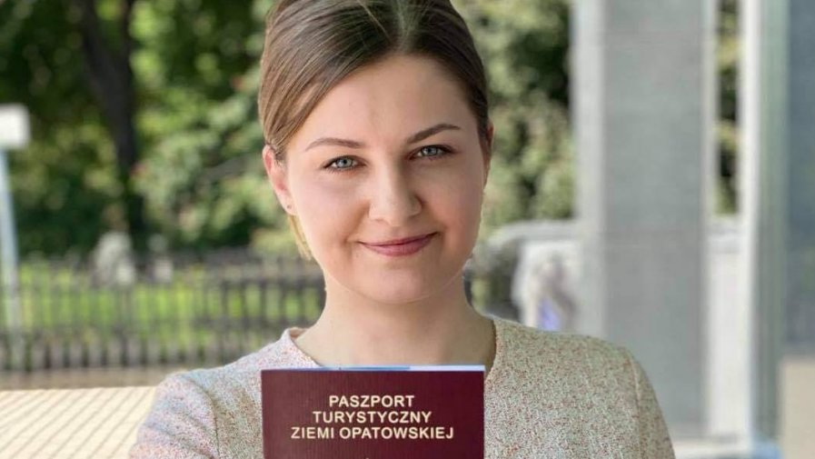 Paszportem promują Ziemię Opatowską