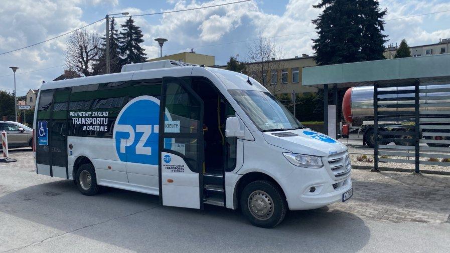 Mieszkańcy domagali się kursu z powiatu opatowskiego do Kielc. Teraz linia cieszy się dużym zainteresowaniem