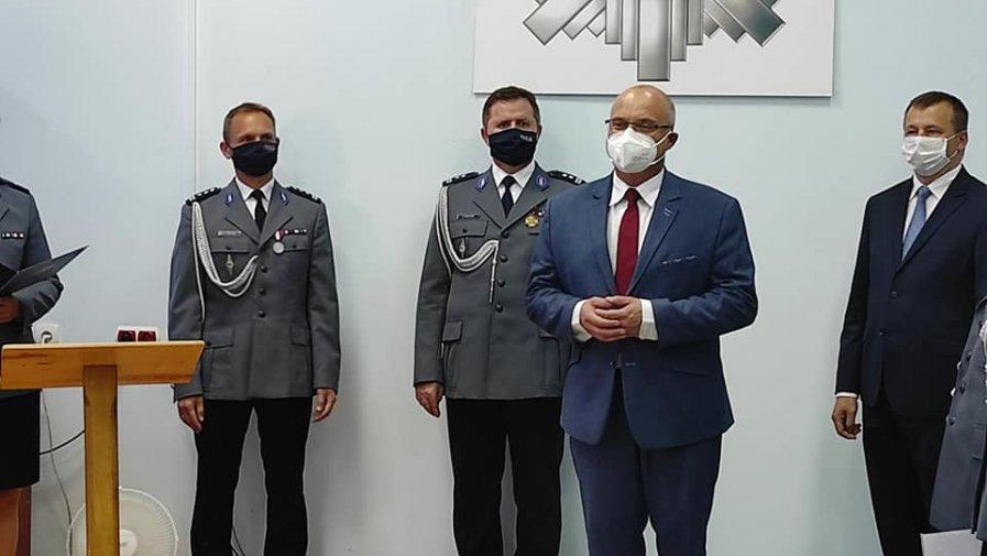 Święto policji w opatowskiej komendzie