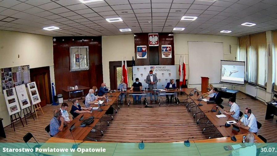 Nadzwyczajna sesja Rady Powiatu w Opatowie