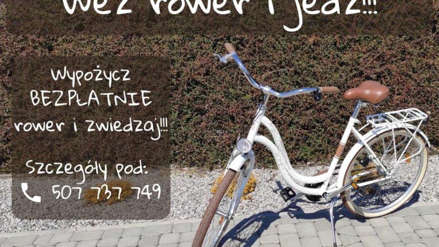 Wypożyczalnia rowerów zaprasza