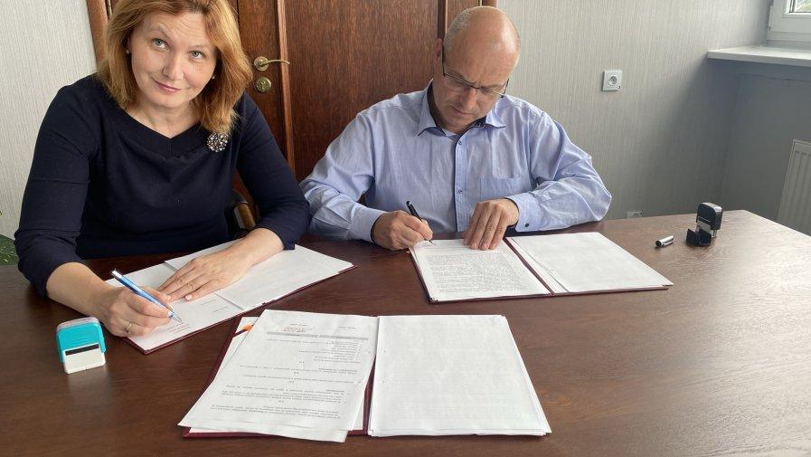 Podpisanie umowy w sprawie druego etapu budowy Środowiskowego Domu Samopomocy. Inwestycja za ponad 3 miliony złotych