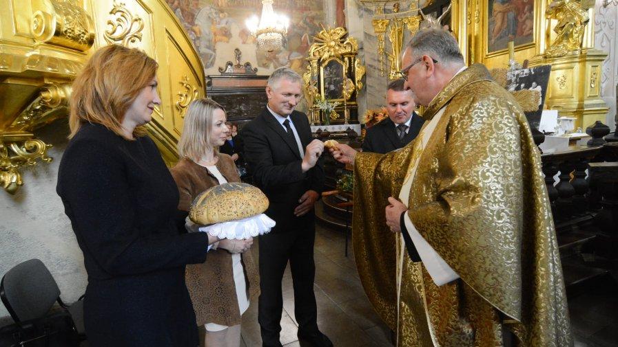 Dożynki parafialne w parafii świętego Marcina w Opatowie