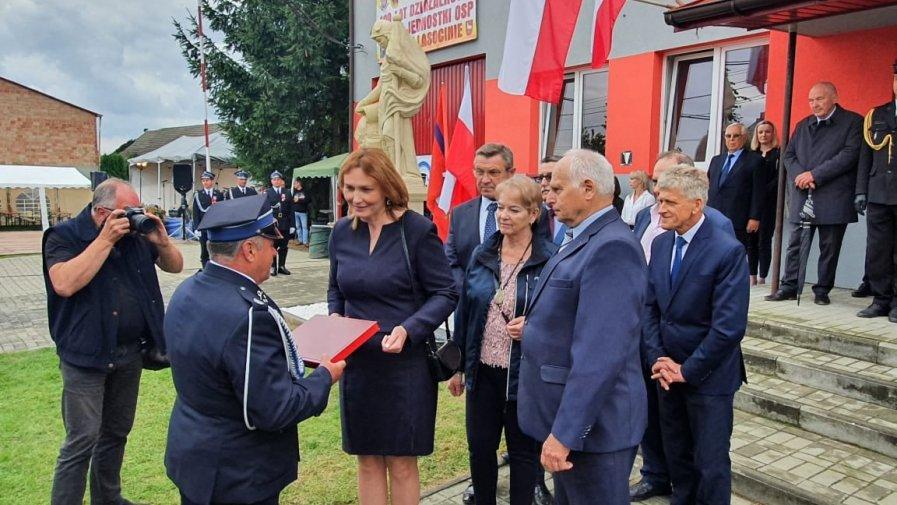 100-lecie Ochotniczej Straży Pożarnej w Lasocinie