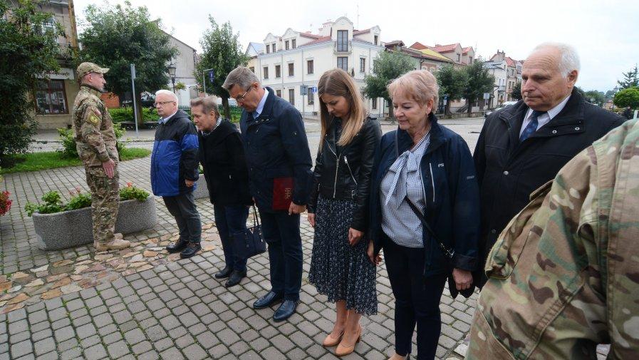 Oddali hołd ofiarom II wojny światowej
