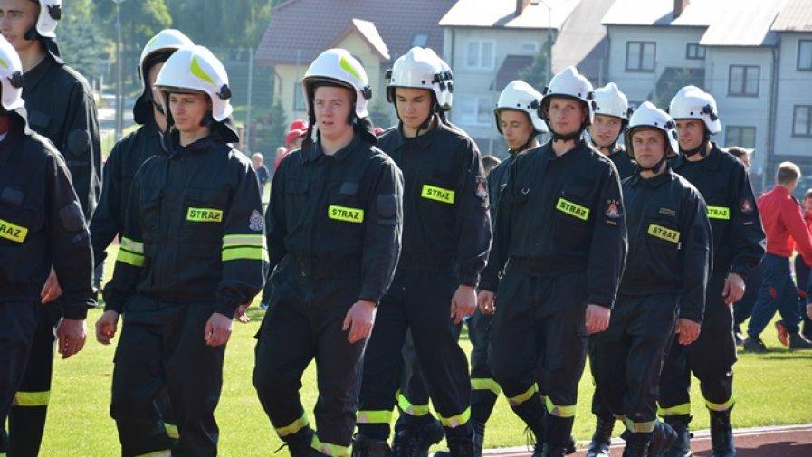 Strażacka rywalizacja w Ożarowie