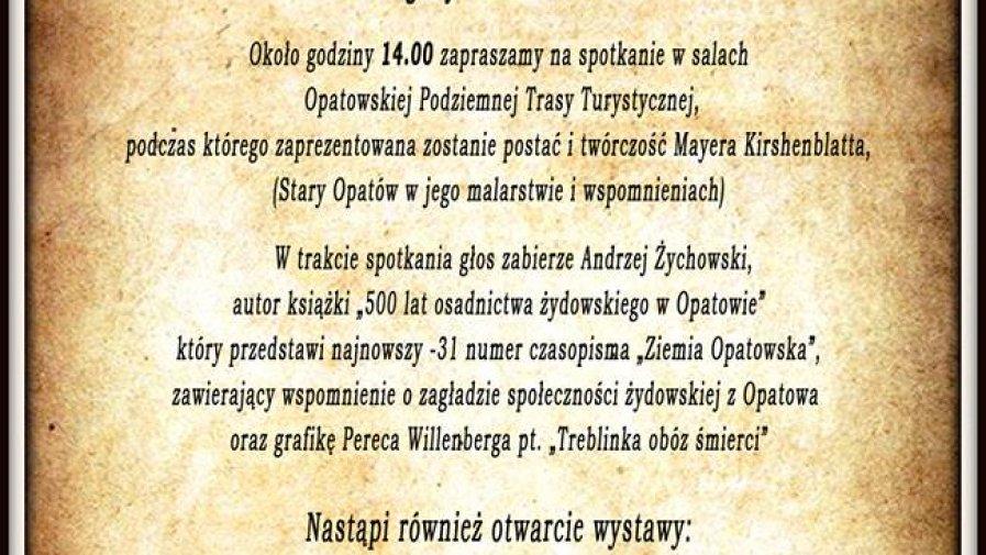 Opatowski Dzień Pamięci