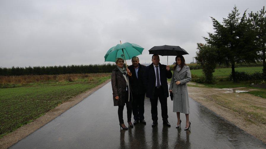 Nowa droga w gminie Ożarów