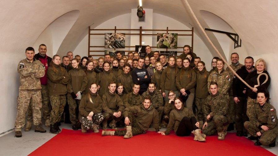 Młodzi mundurowi zostali przeszkoleni przez GROM COMBAT