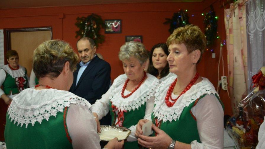 Spotkanie opłatkowe Koła Gospodyń Wiejskich w Sternalicach