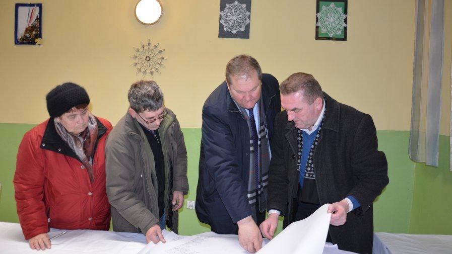 Omówili szczegóły robót melioracyjnych na terenie Wyszmontowa