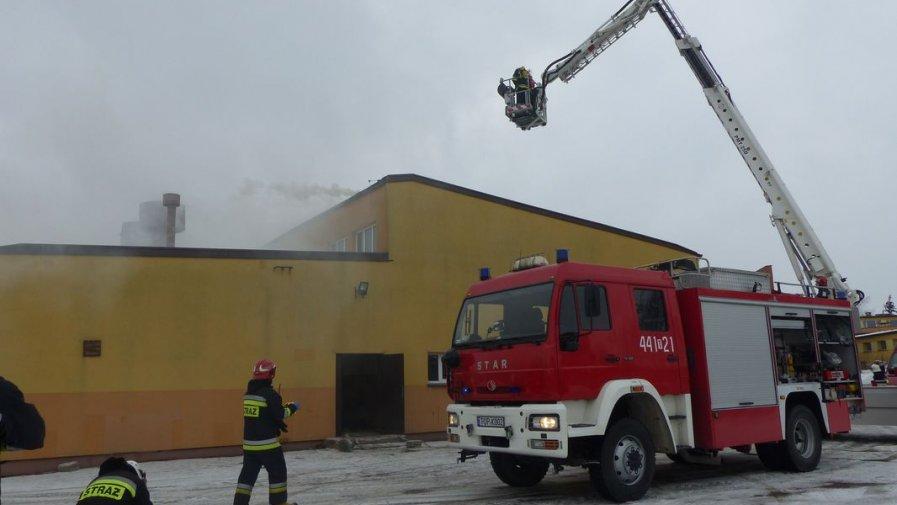 Pożar w Zespole Szkół numer 1. Na szczęście to tylko ćwiczenia