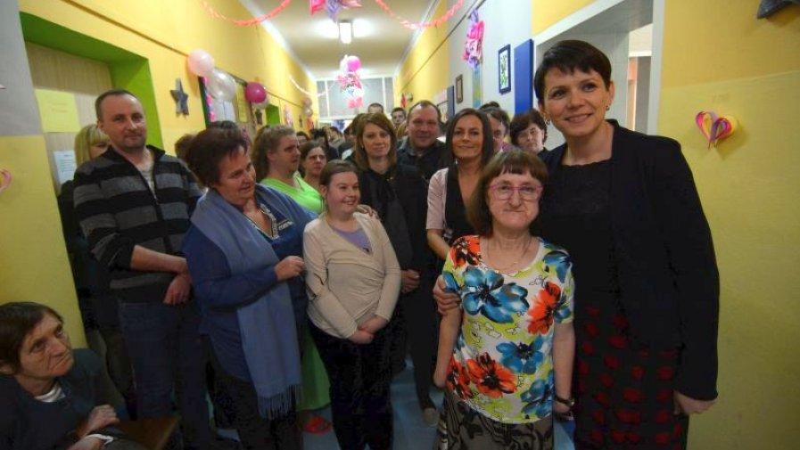 Na zdjęciu: Jeden z dwóch Warsztatów Terapii Zajęciowej w Opatowie prowadzi powiatowa spółka Top Medicus. Drugi w Opatowie prowadzi Dom Pomocy Społecznej w Zochcinku.