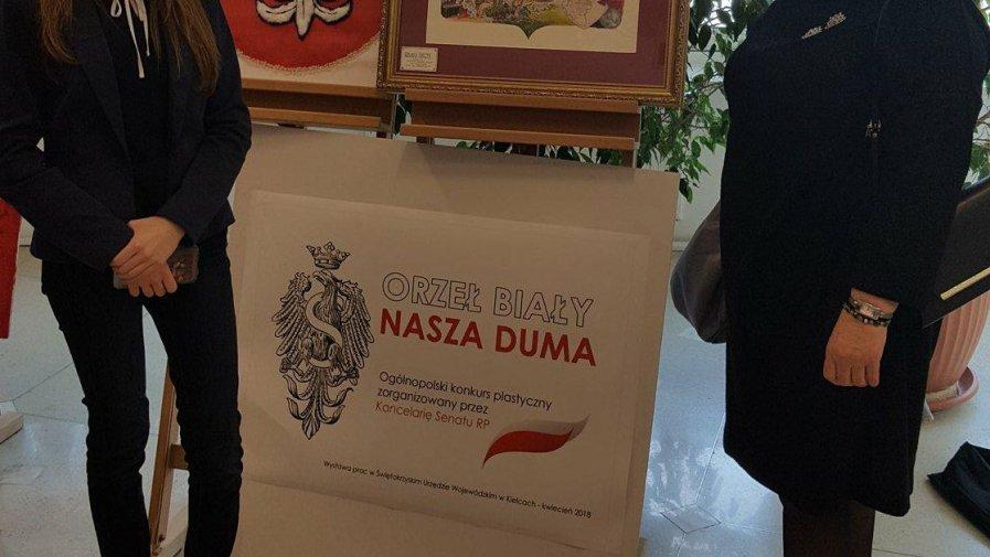 """Uczennica """"Bartosza"""" laureatką konkursu Orzeł Biały"""
