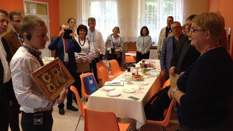 Delegacja z Ukrainy w Niemienicach