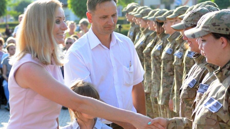 Uczniowie opatowskiej mundurówki uroczyście ślubowali
