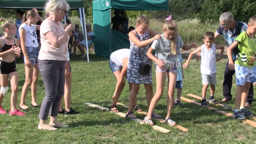 Rodzinna zabawa w Maruszowie