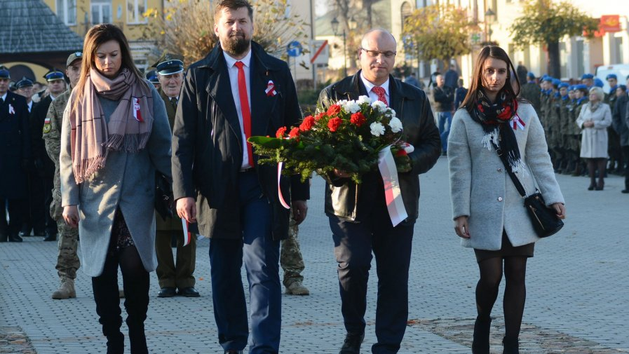 Na opatowskim rynku świętowaliśmy 100-lecie odzyskania niepodległości
