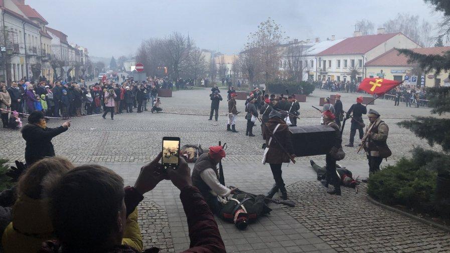 Zobacz film z inscenizacji Bitwy Opatowskiej