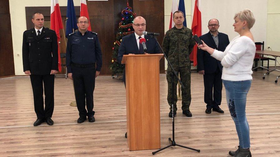 Konferencja prasowa Tomasza Stańka, Starosty Opatowskiego (zapis video)