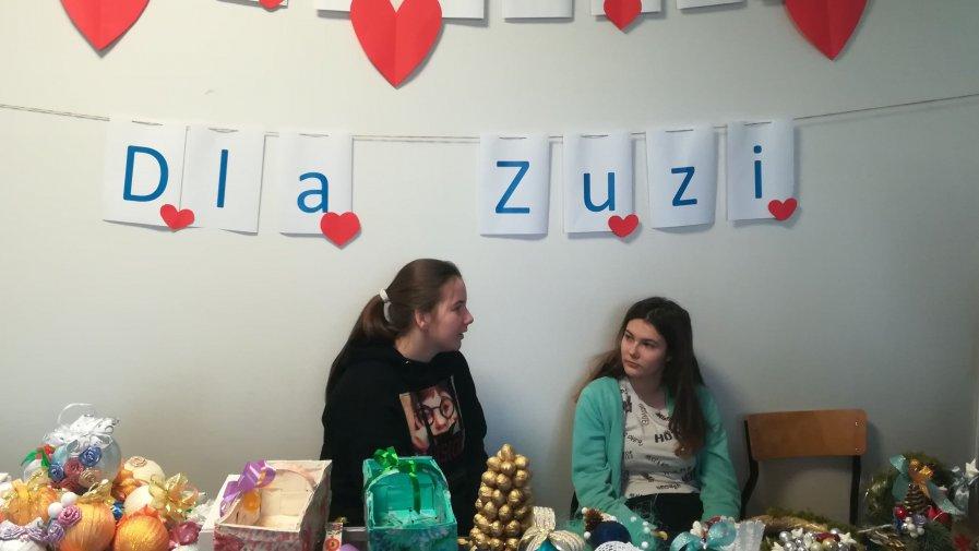 Wspomogli chorą Zuzię Krzak