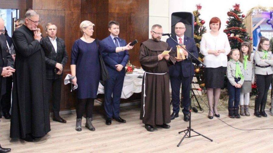 Spotkanie świąteczne w Starostwie Powiatowym w Opatowie