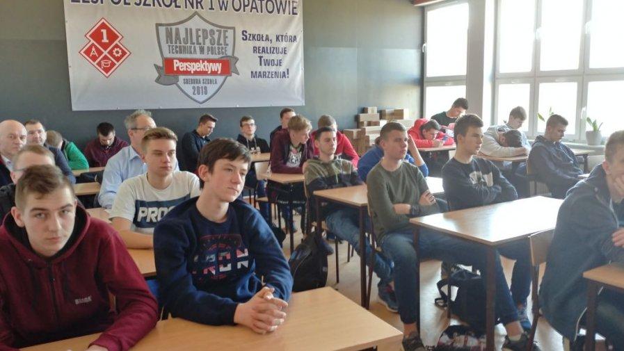 Uczniowie Technikum Rolniczego wzięli udział w szkoleniu zawodowym