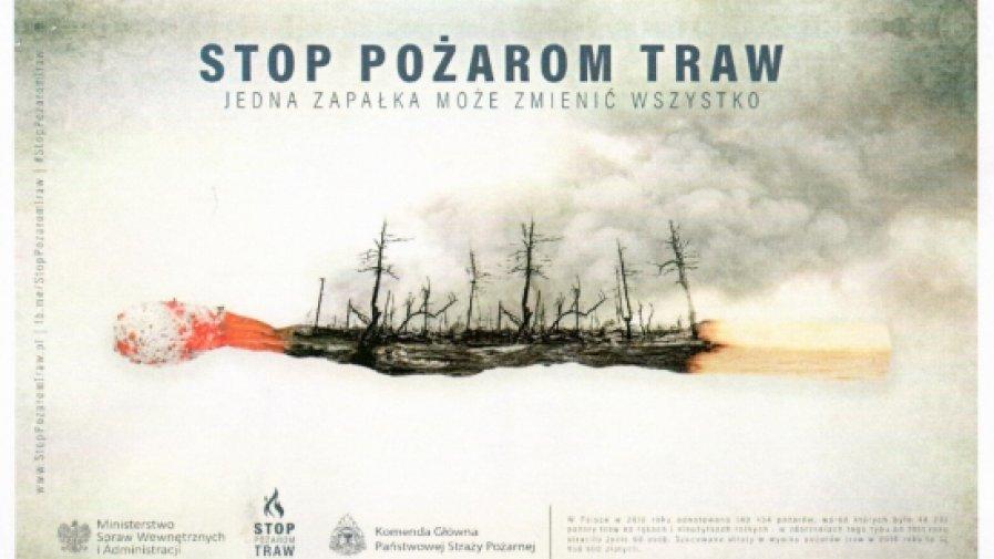 - Nie wypalajmy traw - alarmują świętokrzyscy strażacy