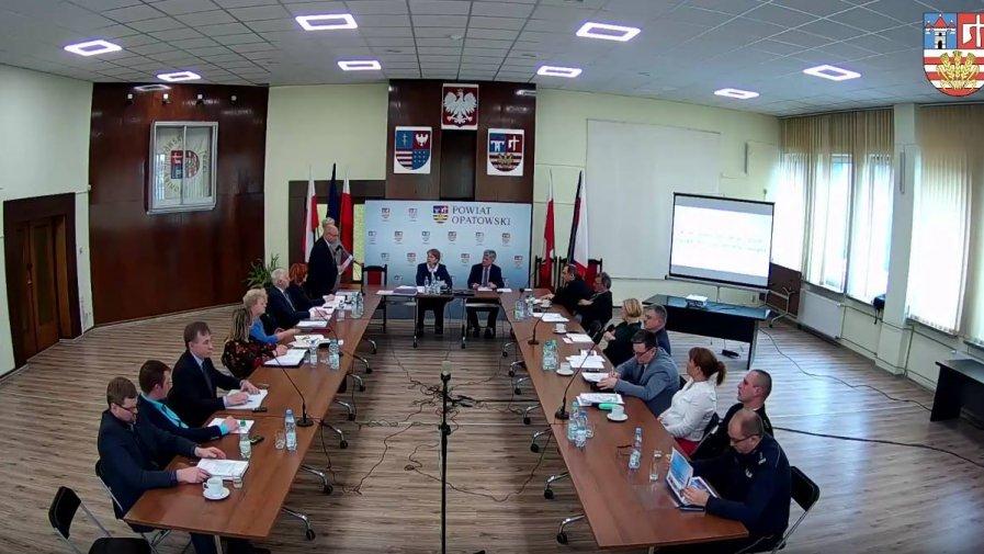 Szósta sesja Rady Powiatu w Opatowie szóstej kadencji