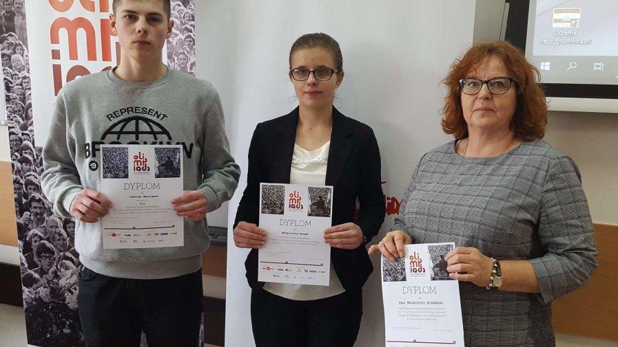 Olimpiada Solidarności z udziałem naszej młodzieży