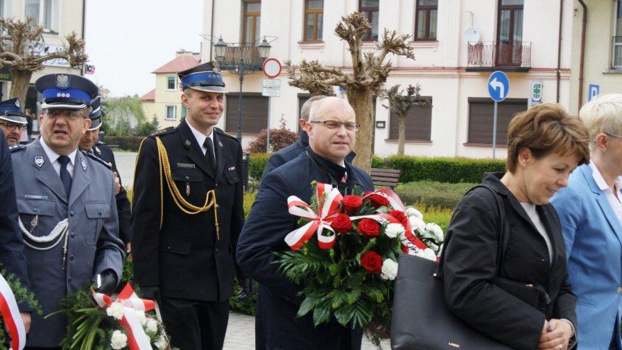 W 228. rocznicę uchwalenia Konstytucji 3 Maja odbyły się uroczystości patriotyczne w Opatowie