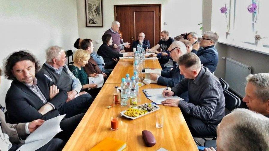 Spotkanie przedstawicieli stowarzyszeń i organizacji społecznych w Starostwie Powiatowym w Opatowie