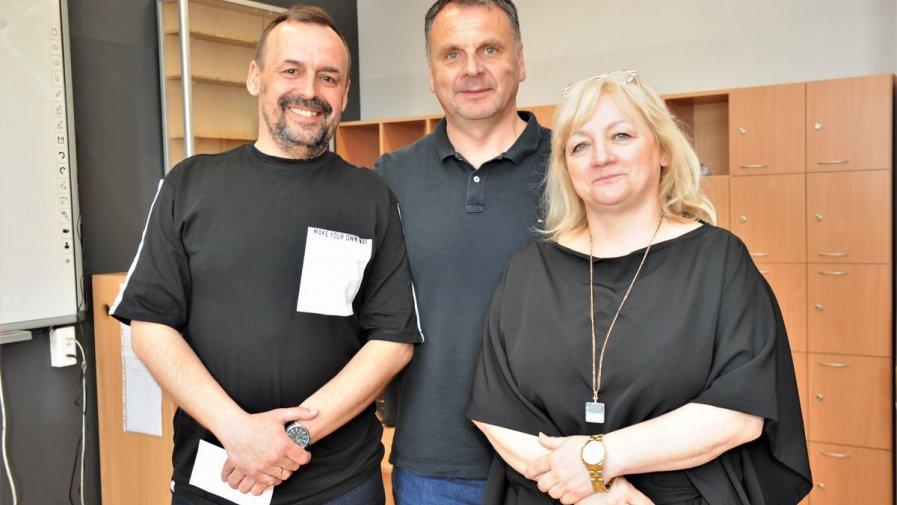 Wizyta w Zespole Szkół nr 1  w Opatowie pułkownika Piotra Gąstały, dowódcy Jednostki Specjalnej GROM w latach 2011-2016