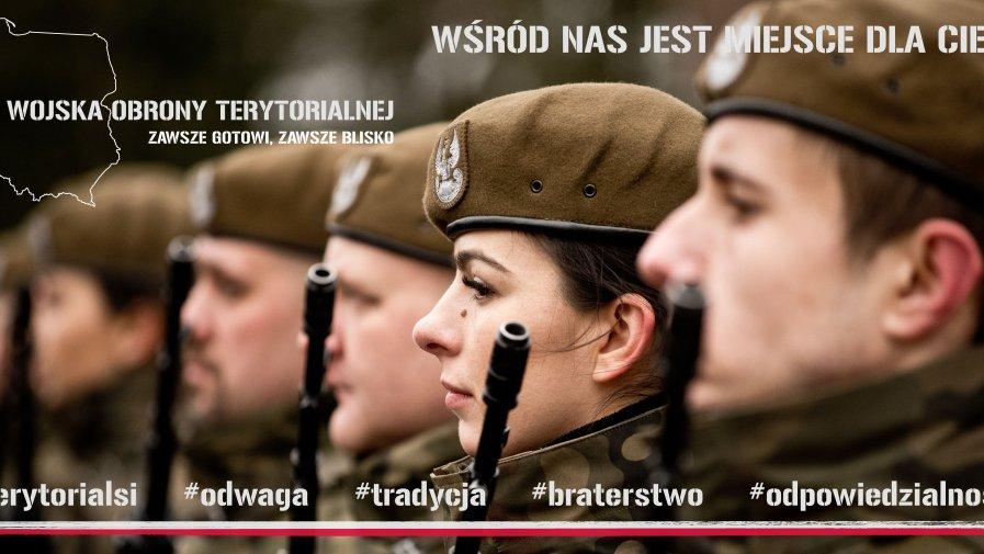 Możesz już zostać żołnierzem Obrony Terytorialnej