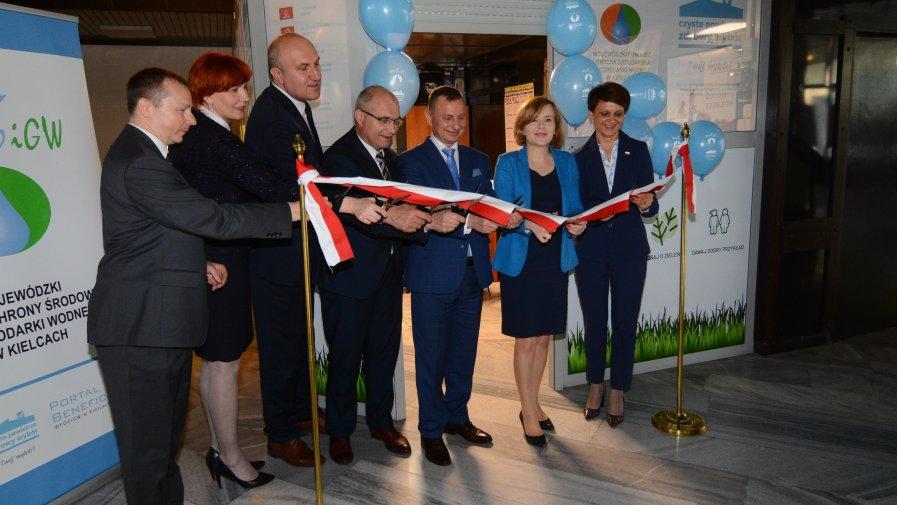 Punkt Wojewódzkiego Funduszu Ochrony Środowiska i Gospodarki Wodnej otwarty w Opatowie